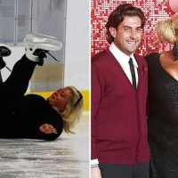 Gemma Collins reveals she cried after injuring arm in Dancing On Ice fall as boyfriend Arg backs her to win