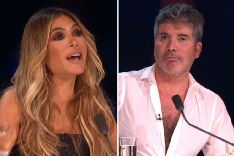 X Factor fans stunned as Ayda Field makes sly dig at Simon Cowell after he announces son Eric has released a song aged four