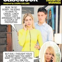 Jackie worries daughter Eva is being controlled by manipulative boyfriend — Deidre's photo casebook