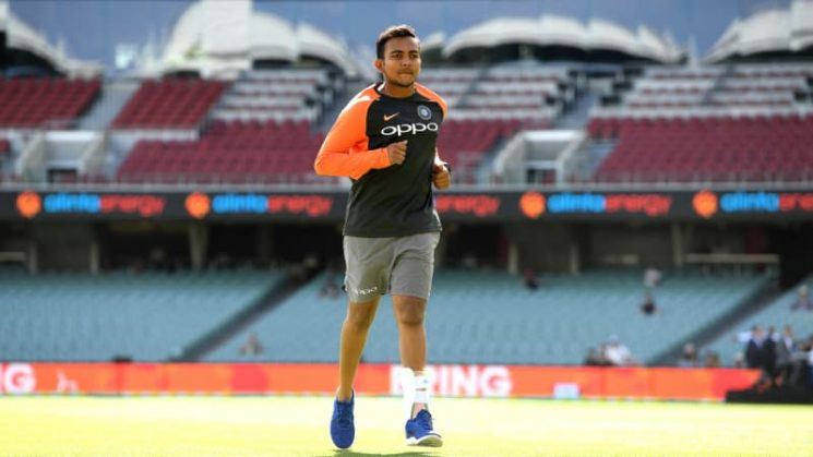 Injured Indian star Shaw back running on road to recovery