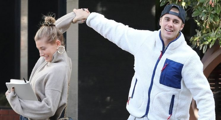 Justin Bieber Spins Wife Hailey as They Dance in the Street!