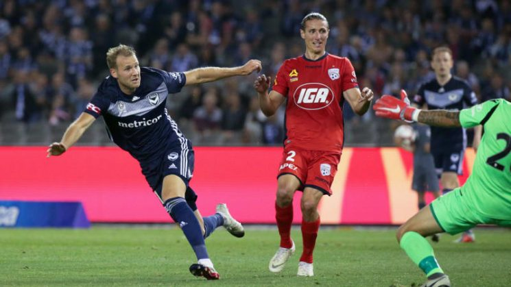 Victory roll Adelaide 2-0 in A-League