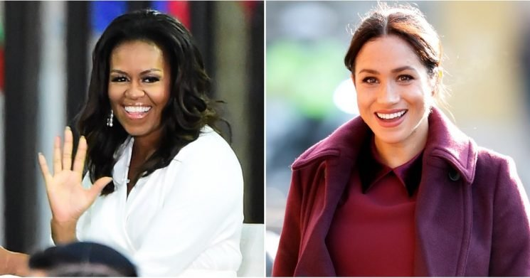Michelle Obama and Meghan Markle Finally Met, and THIS Is What They Discussed