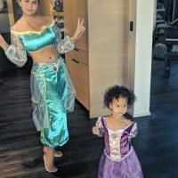 Luna's Wish Is Her Command! Chrissy Teigen Dresses Up as Aladdin's Jasmine for Princess Playtime