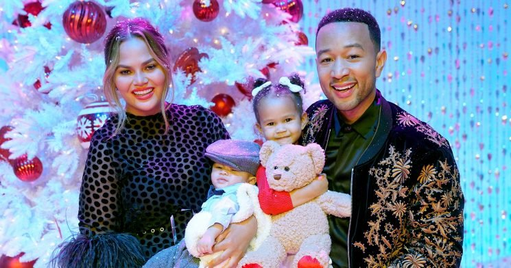 Chrissy Teigen Reveals Son Miles Needs a Helmet for His 'Misshapen Head'