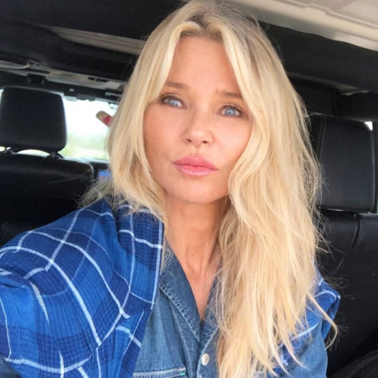 Christie Brinkley Ditches Her Makeup in a Beautiful Barefaced Selfie
