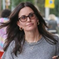 Courteney Cox Spends the Day Furniture Shopping in L.A.
