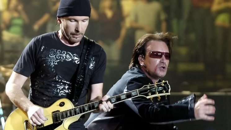 U2 tops list of year's top-paid musicians