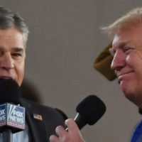 Viral Video Shows Donald Trump Directly Repeating Sean Hannity's Talking Points