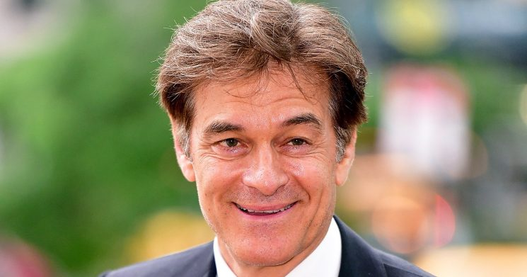 Dr. Oz Gives Us His Personal Trick for Preventing Hangovers