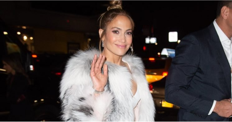 If a Leg Slit Was Ever Made For Jennifer Lopez, It's Definitely This One