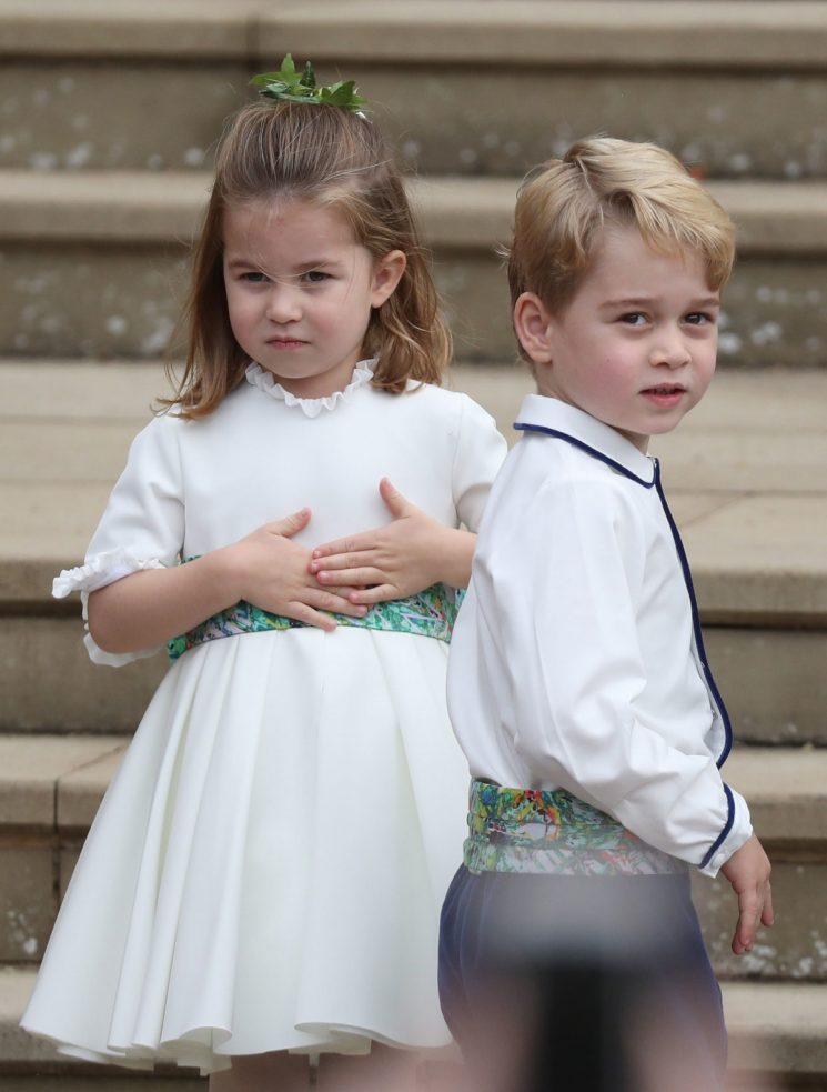 Princess Charlotte's Outfit In The Royal Christmas Card Holds A Special Meaning