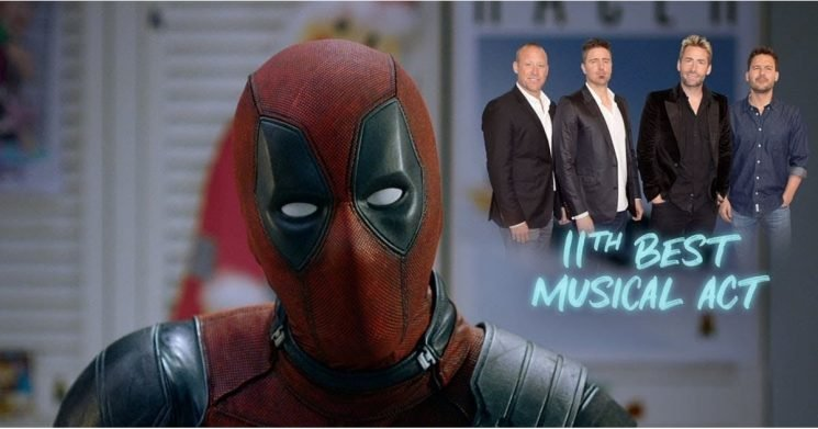 """Deadpool Demands That Everyone """"Respect Nickelback"""" in New Trailer For Once Upon a Deadpool"""