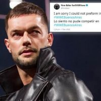 WWE news: Finn Balor doubt for TLC after pulling out of South American tour due to illness
