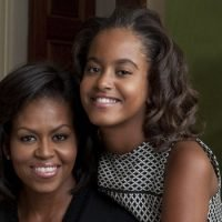 Michelle and Malia Obama Compare Their High School Years