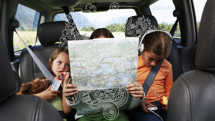 How 7 Moms Entertain Kids on a Long Car Ride