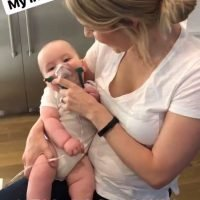 Ali Fedotowsky-Manno's 'Brave' Son Riley, 6 Months, Uses Oxygen Mask for Breathing Troubles