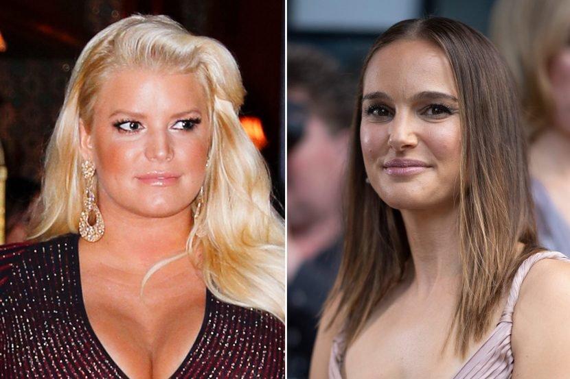 Jessica Simpson slams Natalie Portman for shaming her bikini photo