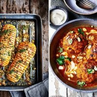 Let your delicious vegetarian side dishes take centre stage with Dean Edwards' tasty cauliflower and butternut squash recipes