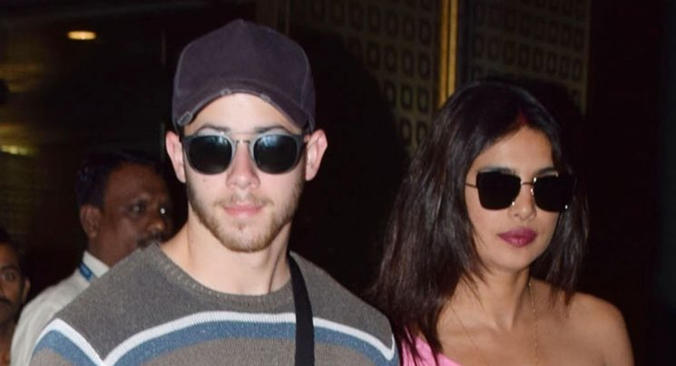 Nick Jonas & Priyanka Chopra Arrive Back in Mumbai