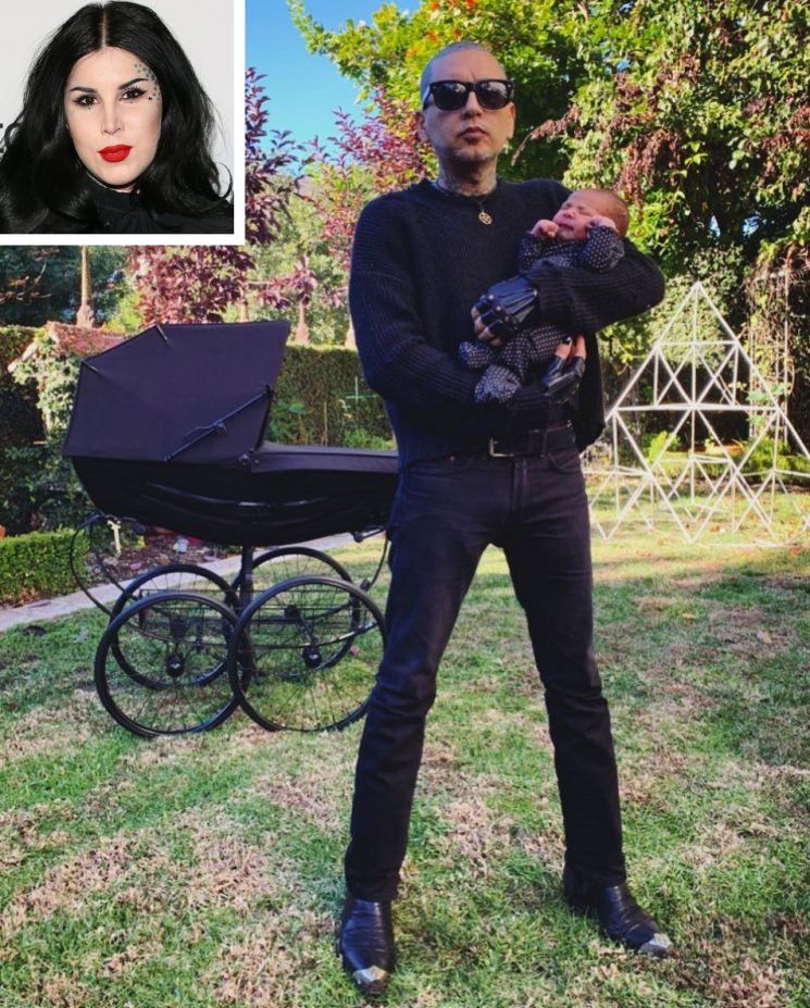 Kat Von D's Little Man Has Arrived! Beauty Guru and Husband Leafar Seyer Welcome Son Leafar
