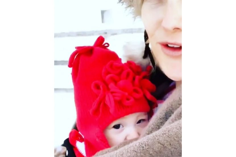 Kate Hudson Takes a 'Morning Walk' with Daughter Rani on Her First Christmas: See the Cute Clip
