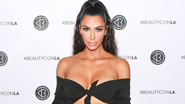 Kim Kardashian Flaunts Sexy Curves In Tight Bandage Dress That Kanye West Picked For Her — Pic