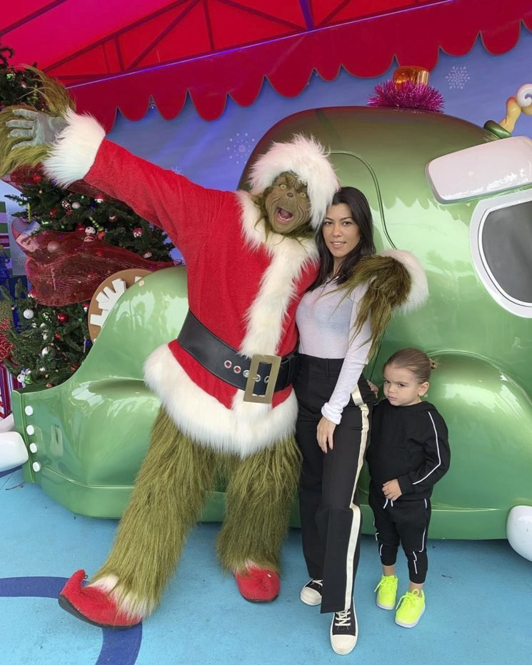 Her Heart Grew Three Sizes! See Kourtney Kardashian's Cute Pics from Grinch Visit with Her Kids