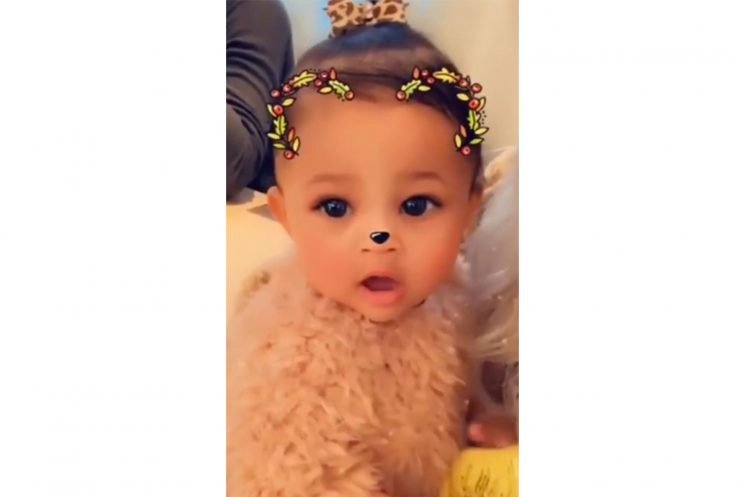 We Found It: The Cute Faux-Fur Top Worn by Kylie Jenner's 10-Month-Old Daughter Stormi