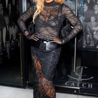 Laverne Cox's Sheer Lace Dress — Plus More Can't-Miss Celeb Looks