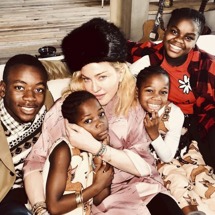 Madonna Wants Peace on Earth for Christmas as She Celebrates with '4 of Her 6 Unicorns'