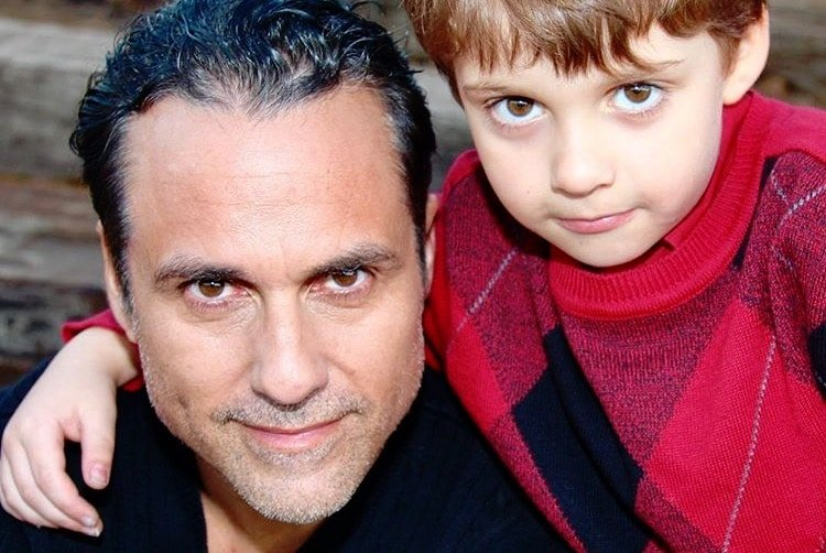 Maurice Benard shares his son's birthday with General Hospital fans