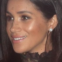 Meghan Markle Just Stunned in a Black Sheer Dress at the Queen's Christmas Luncheon