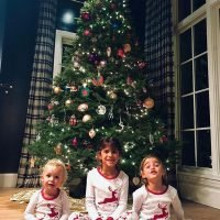 Pajama Party! See Celeb Kids Getting in the Holiday Spirit with Their Seasonal Sleepwear
