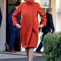 Nancy Pelosi's Red Max Mara Coat Got So Much Attention, It's Being Re-Issued