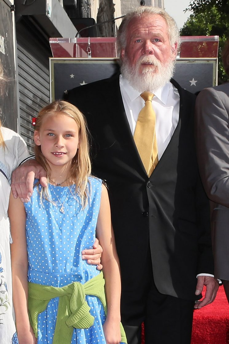 Nick Nolte, 77, Reveals His 11-Year-Old Daughter Sophie Calls Him 'Grandpa'