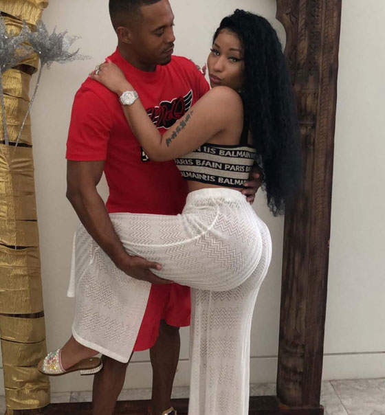 Awww, What A Lovely Picture Of Nicki Minaj And Her Convicted Sex Offender Boyfriend (UPDATE)