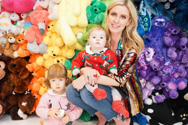 Nicky Hilton Rothschild Makes Rare Appearance with Her Two Daughters at N.Y.C. Event