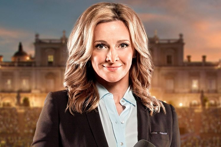 How old is Gabby Logan, who is her husband Kenny, and what TV shows does the sports presenter host?