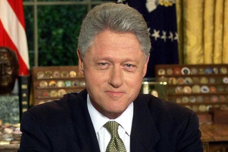 Was Bill Clinton impeached, what was his Good Friday Agreement involvement and how old is the former US President?