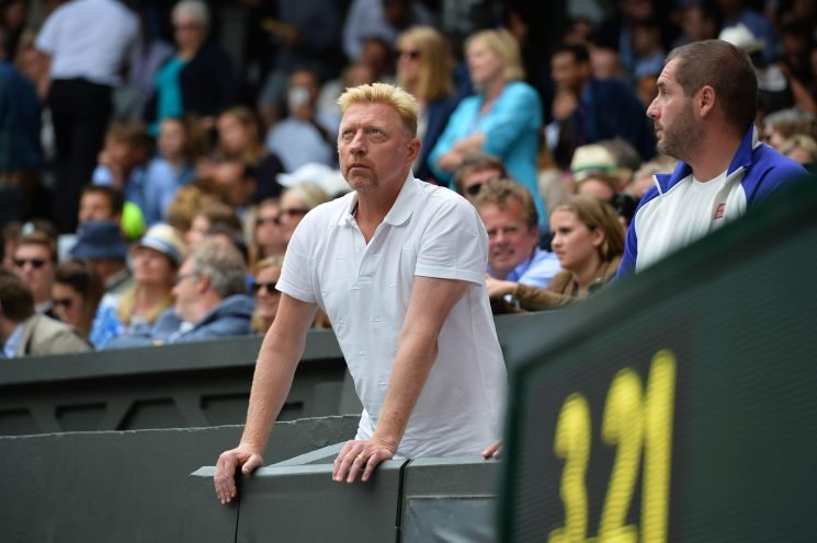 How old is Boris Becker, who are his ex-wives Lilly and Barbara, how many kids does he have and is he in debt?