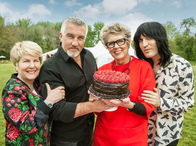 How much do the Great British Bake Off judges and presenters get paid? Paul, Prue, Noel and Sandy's pay deals
