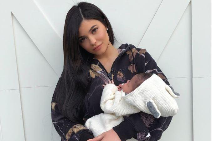 When was Kylie Jenner's baby Stormi Webster born, who is dad Travis Scott and what does her name mean?