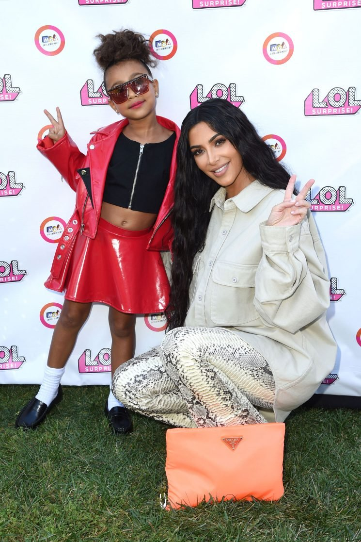 Kim Kardashian's 'BFF' North Shows Off Sleek Hairdo as They Have a Mother-Daughter Photo Shoot