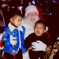 Celeb Kids Cry When Meeting Santa, Too! See Some of Their Most Hilarious Holiday Photo Fails