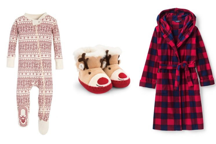 The Cutiest Holiday Jammies for the Cutest Kids in Your Life (and There Are Matching Grown-Up Sets, If That's Your Thing)