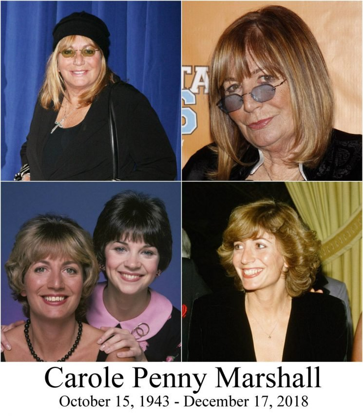 Penny Marshall, beloved actress & director, has passed away at the age of 75