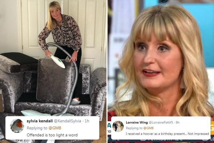 Cleaning blogger sparks outrages by saying a VACUUM is the perfect Christmas present for women