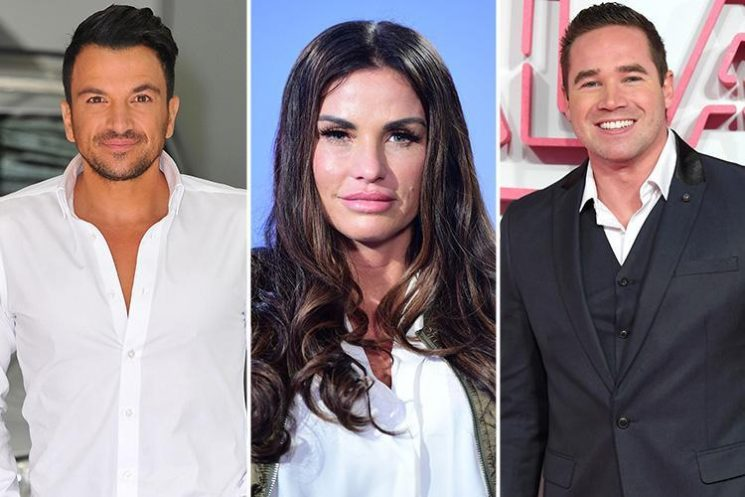 Katie Price vows to 'start afresh' with exes Peter Andre and Kieran Hayler after 'constant rows in front of their kids'