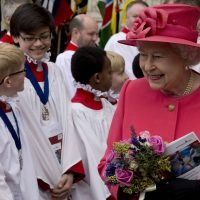 Mom Keeps Her Cool When Her Son Flees the Queen at Charity Event